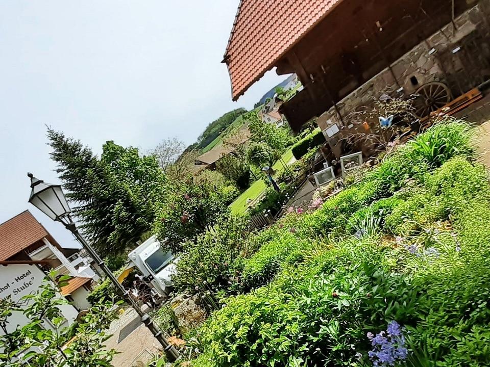 Bauerngarten beim Historischen Speicher in Oberharmersbach